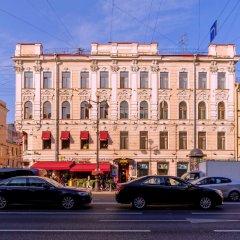 Клуб-Отель Агни Санкт-Петербург вид на фасад фото 2