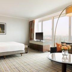 Отель Hilton Amsterdam Амстердам комната для гостей фото 2