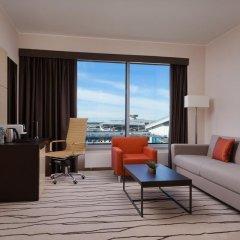 Гостиница DoubleTree by Hilton Moscow — Vnukovo Airport комната для гостей фото 9