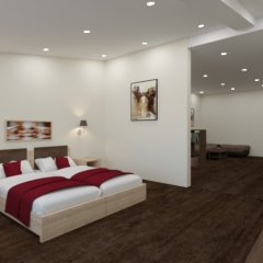 Гостиница Максим 3* Улучшенный номер разные типы кроватей фото 2