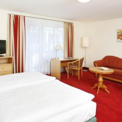 Hotel Biederstein am Englischen Garten комната для гостей
