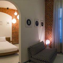 Дизайн-отель Brick комната для гостей фото 6