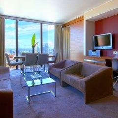Отель Hilton Manchester Deansgate Манчестер комната для гостей фото 5