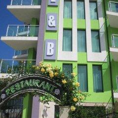 Отель L&B Солнечный берег вид на фасад фото 2