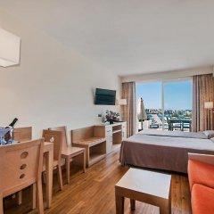 Отель Aparthotel Ponent Mar Улучшенная студия с различными типами кроватей фото 2