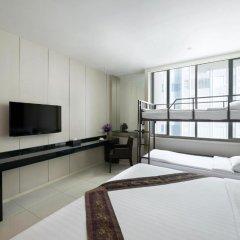 Mandarin Hotel Managed by Centre Point 4* Номер Делюкс Quartette с различными типами кроватей фото 2