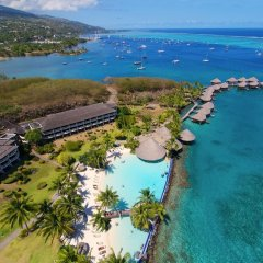 Отель InterContinental Resort Tahiti пляж фото 5