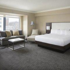 Отель Hilton San Francisco Union Square 4* Семейный номер Делюкс с двуспальной кроватью