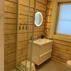 База Отдыха Forrest Lodge Karelia Улучшенный шале с разными типами кроватей фото 23