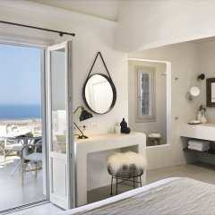 Отель Santo Maris Oia, Luxury Suites & Spa 5* Полулюкс с различными типами кроватей фото 4