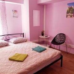 Moscow Hostel Travel Inn Номер с общей ванной комнатой с различными типами кроватей (общая ванная комната)