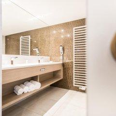Отель IMLAUER Hotel Pitter Salzburg Австрия, Зальцбург - 7 отзывов об отеле, цены и фото номеров - забронировать отель IMLAUER Hotel Pitter Salzburg онлайн ванная