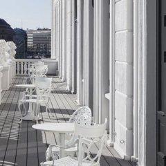 Отель D Angleterre Копенгаген балкон