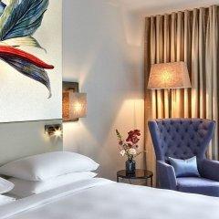 Отель Hyatt Regency Amsterdam Стандартный номер с клубным доступом с различными типами кроватей фото 2
