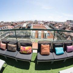 Отель Lisbon Art Stay Apartments Baixa Португалия, Лиссабон - 4 отзыва об отеле, цены и фото номеров - забронировать отель Lisbon Art Stay Apartments Baixa онлайн балкон