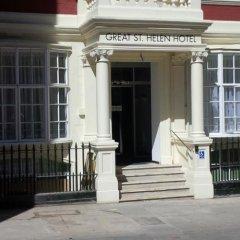 Отель Great St Helen Hotel Великобритания, Лондон - отзывы, цены и фото номеров - забронировать отель Great St Helen Hotel онлайн вид на фасад фото 2