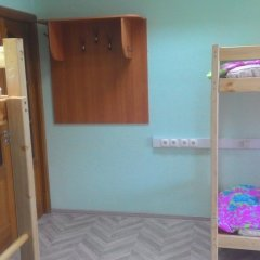 Хостел Транссиб Кровать в общем номере с двухъярусной кроватью фото 5