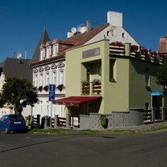 Отель pension A5A Чехия, Карловы Вары - отзывы, цены и фото номеров - забронировать отель pension A5A онлайн вид на фасад фото 2