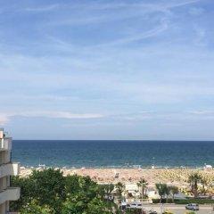 Hotel Fedora Rimini пляж