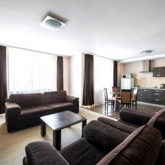 Гостиница Комплекс апартаментов Комфорт Улучшенные апартаменты с различными типами кроватей фото 23