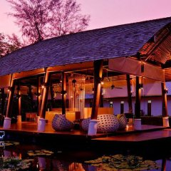 Отель Twin Lotus Resort and Spa - Adults Only Ланта гостиничный бар фото 2