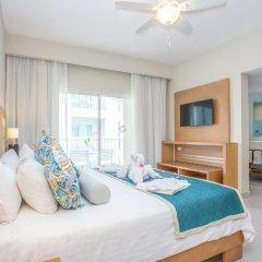 Отель Be Live Collection Punta Cana - All Inclusive 3* Номер Делюкс улучшенный Swim up с различными типами кроватей фото 3