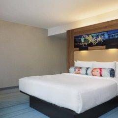 Отель Aloft Brussels Schuman 3* Номер Loft с различными типами кроватей фото 2