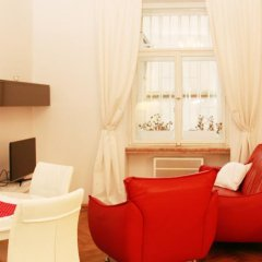 Отель Residence Bílkova Чехия, Прага - отзывы, цены и фото номеров - забронировать отель Residence Bílkova онлайн комната для гостей фото 6