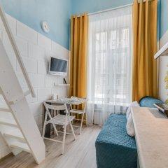 Апартаменты Sokroma Глобус Aparts Студия с двуспальной кроватью фото 9