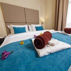 Гостиница Голубая Лагуна Улучшенный номер разные типы кроватей фото 5