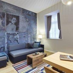 Отель Hyatt House Dusseldorf Andreas Quarter Стандартный номер с различными типами кроватей фото 2