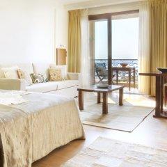 Отель Anthemus Sea Beach Hotel & Spa Греция, Ситония - 2 отзыва об отеле, цены и фото номеров - забронировать отель Anthemus Sea Beach Hotel & Spa онлайн комната для гостей фото 6