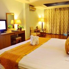 Отель Sanya Huayuan Hot Spring Sea View Resort комната для гостей фото 3