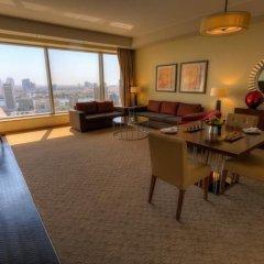 Отель Swissotel Living Al Ghurair Dubai Представительский номер с различными типами кроватей