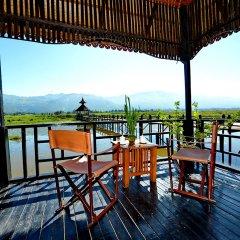 Отель Myanmar Treasure Resort Inle балкон фото 2