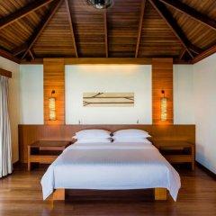 Отель Sheraton Maldives Full Moon Resort & Spa 5* Люкс Water с различными типами кроватей фото 2