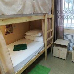 Хостел Дачный Кровать в общем номере с двухъярусной кроватью