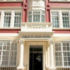 Отель Great St Helen Hotel Великобритания, Лондон - отзывы, цены и фото номеров - забронировать отель Great St Helen Hotel онлайн вид на фасад фото 3