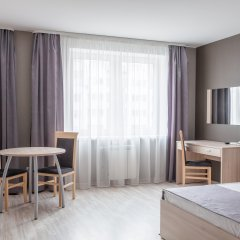 Гостиница Комплекс апартаментов Комфорт Улучшенная студия с различными типами кроватей фото 5