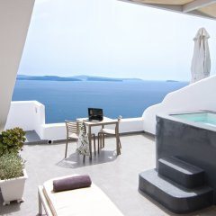 Отель Santorini Secret Suites & Spa 5* Люкс Absolute с различными типами кроватей фото 12