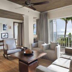 Отель The St. Regis Mauritius Resort 5* Люкс Beachfront St. Regis с различными типами кроватей фото 2