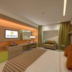 Al Khoory Atrium Hotel 4* Улучшенный номер с различными типами кроватей фото 2