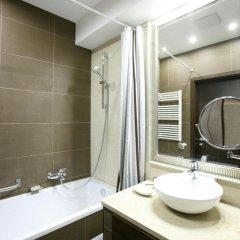 Отель Bástya Wellness Hotel Венгрия, Силвашварад - 2 отзыва об отеле, цены и фото номеров - забронировать отель Bástya Wellness Hotel онлайн ванная фото 2