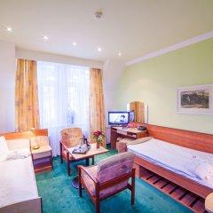 Отель Krivan Чехия, Карловы Вары - отзывы, цены и фото номеров - забронировать отель Krivan онлайн комната для гостей фото 5