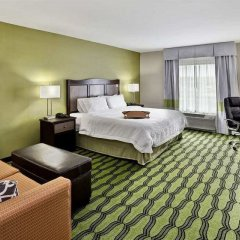 Отель Hampton Inn Niagara Falls/ Blvd США, Ниагара-Фолс - отзывы, цены и фото номеров - забронировать отель Hampton Inn Niagara Falls/ Blvd онлайн комната для гостей фото 3