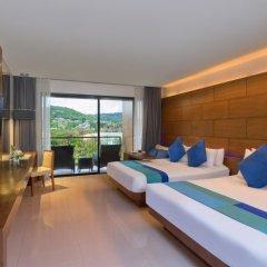 Отель Novotel Phuket Kata Avista Resort And Spa 4* Улучшенный номер 2 отдельные кровати фото 2