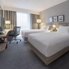 Отель Hilton Garden Inn Manchester Emirates Old Trafford комната для гостей