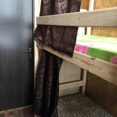 Хостел The Secret Place Кровать в общем номере