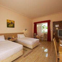 Отель Sindbad Aqua Hotel & Spa Египет, Хургада - 8 отзывов об отеле, цены и фото номеров - забронировать отель Sindbad Aqua Hotel & Spa онлайн комната для гостей фото 3