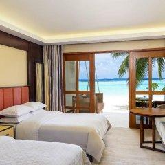 Отель Sheraton Maldives Full Moon Resort & Spa 5* Номер Делюкс с различными типами кроватей